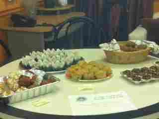 Muffins for staff appreciation