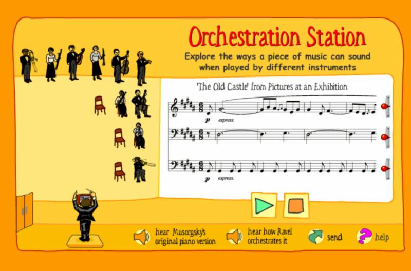 New Philharmonic Music Ed Orchestration Station