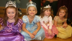 Preschool Halloween princesses