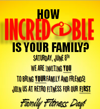 Retro Fitness Family Fitness Day