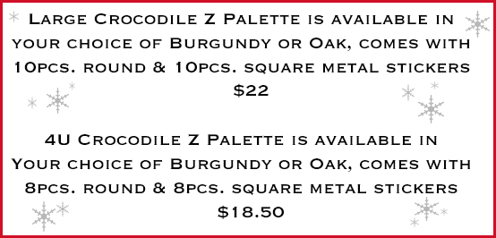 z palette limited edition crocodile makeup palette holiday 2013