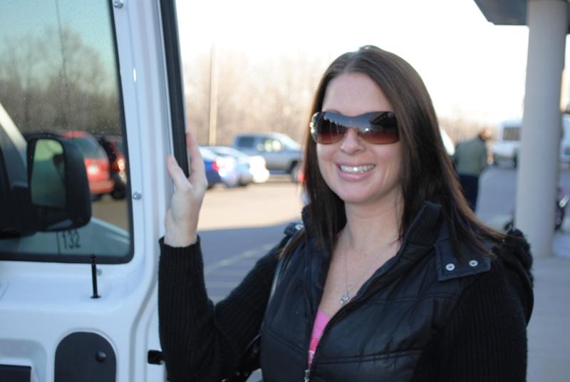 Lori outside Merrick