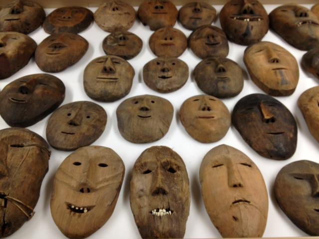 Sheldon Jackson Point Hope Masks