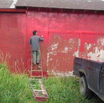 Lance painting