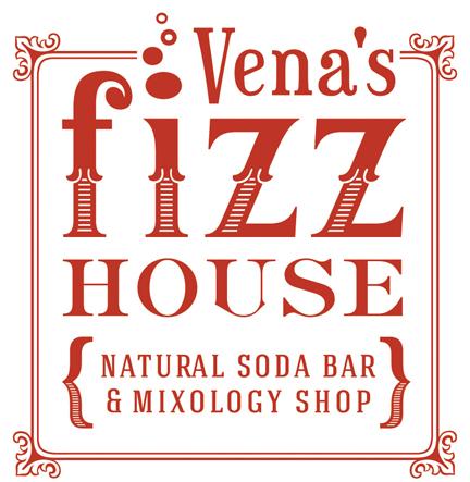 Vena's Fizz House logo
