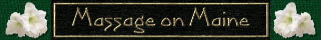 Massage on Maine logo