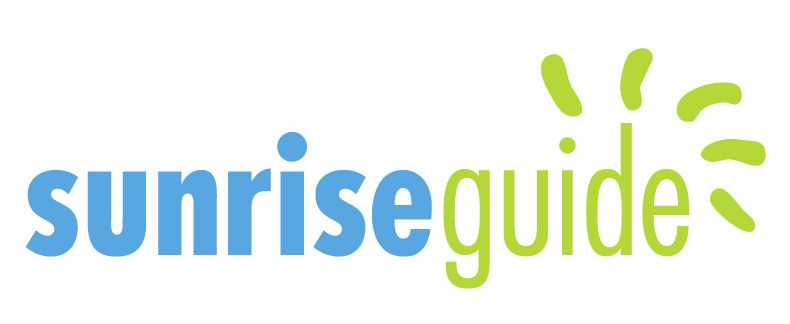 SunriseGuide logo color