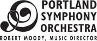 Portland Symphony Orchestra logo