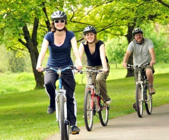 Photo for biking story