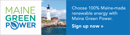 Maine Green Power display ad