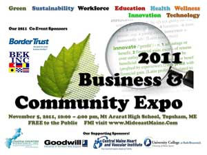 2011 Business and Community Expo Logo
