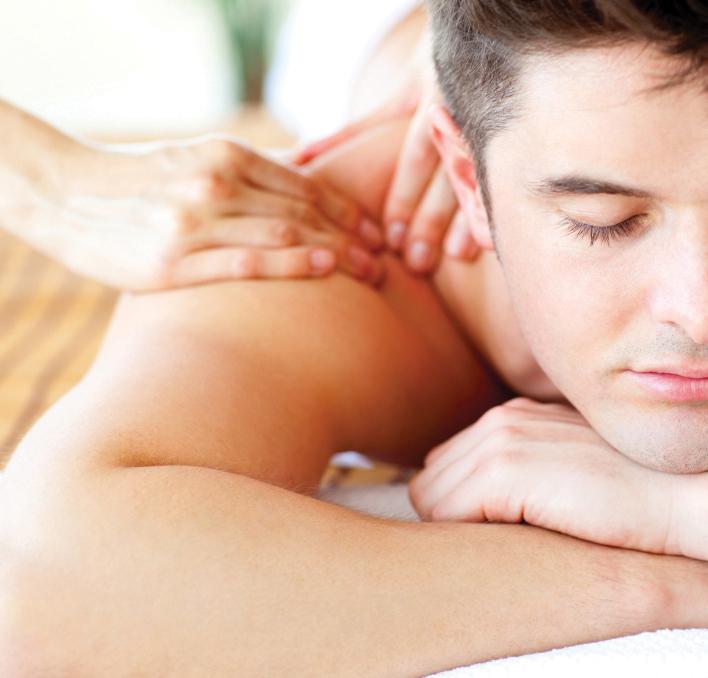 photo of a professional massage