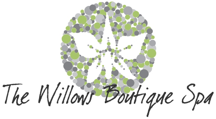 The logo for The Willows Boutique Spa