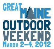 Great Maine Outdoor Weekend logo
