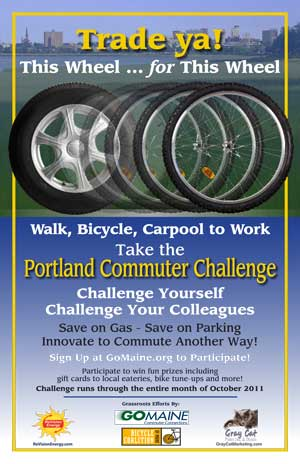 Commuter Challenge poster