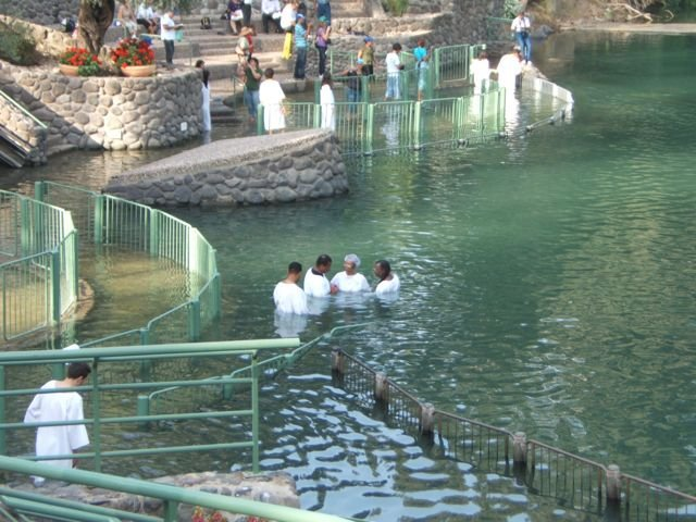 Baptisms in the Sea of Galilee