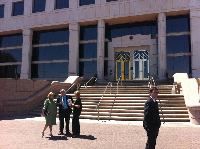 Cathi Outside Court of Appeals after ACA