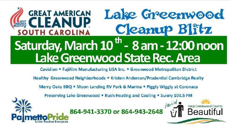 Lake Greenwood Cleanup-2012