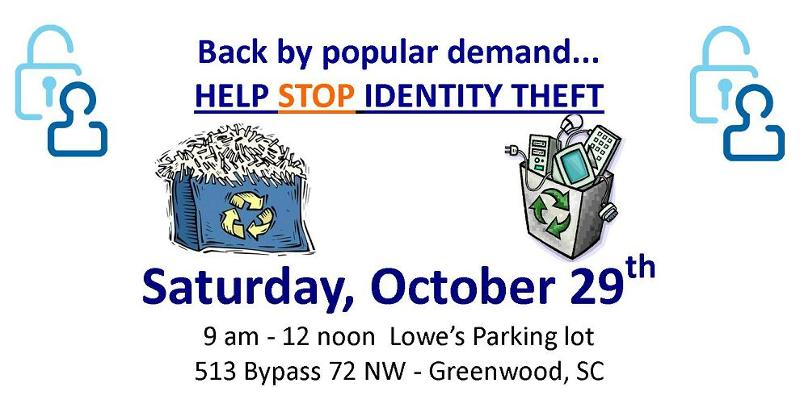 Greenwood Shredding Event