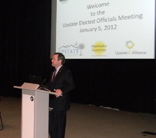 Dan Hamilton - Upstate Elected Officials Meeting