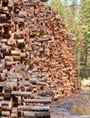 Northwest log stack