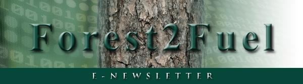 Forest2Fuel E-Newsletter