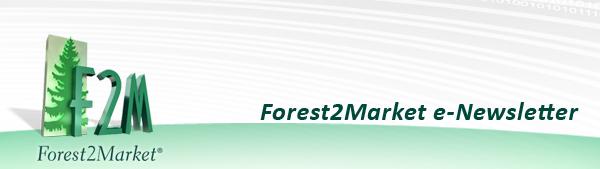 Forest2Market e-Newsletter Header