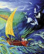 Woman in boat