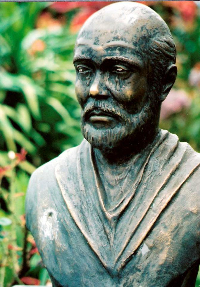 Casa De Com Inacio Statue in Garden