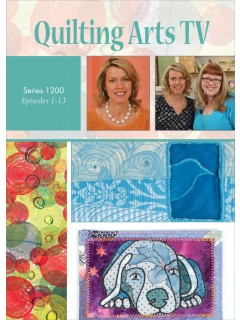 Quilting Arts TV 1200 series DVD