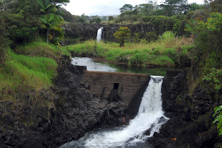 Wailuku broken dam