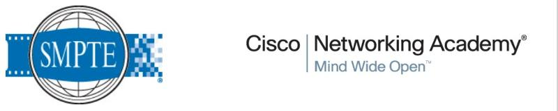 SMPTE Cisco Networking Academy Banner