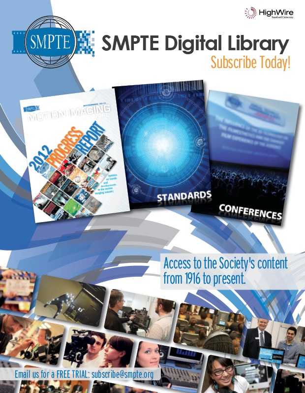 SMPTE Digital Library Graphic