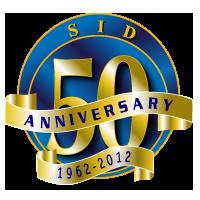 SID 50th Anniversary Logo