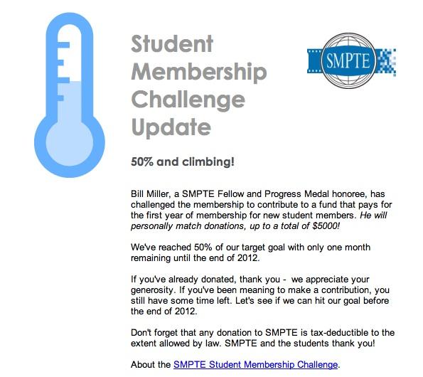 Student Membership Challenge