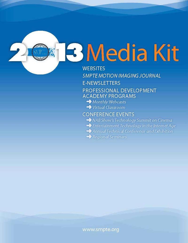 SMPTE 2013 Media Kit
