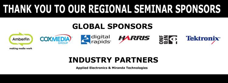Regional Seminar Sponsors