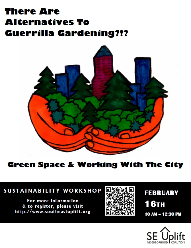 There Are Alternatives to Guerrilla Gardening??