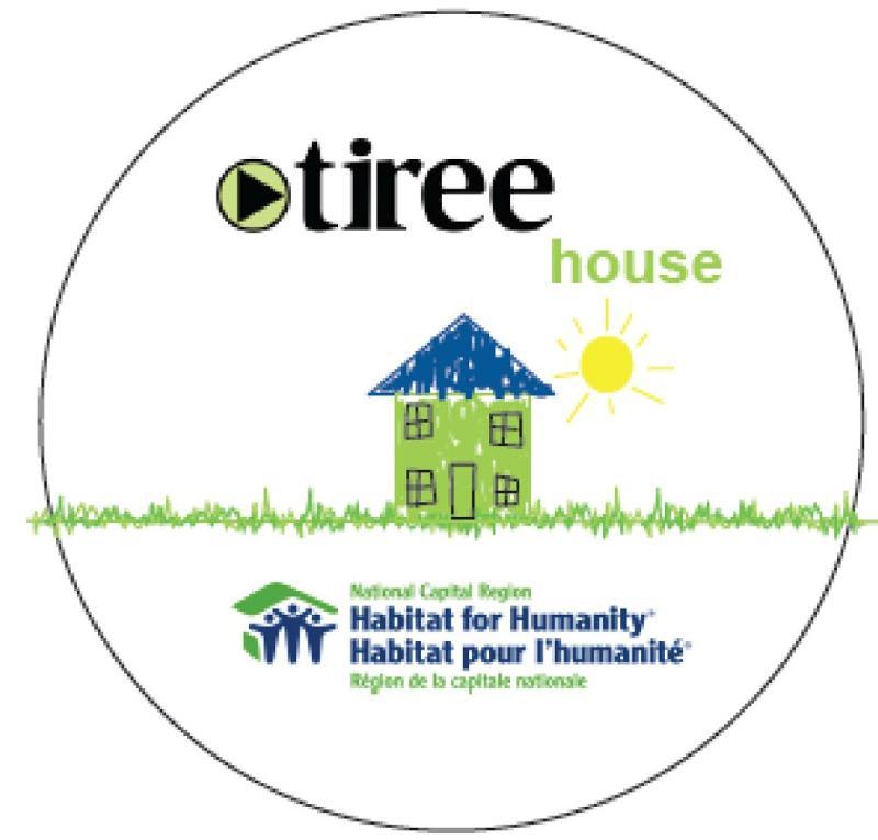 Tiree house logo