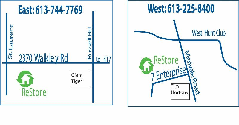 Maps - ReStore