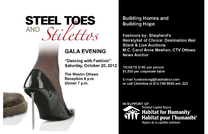 Steel Toes and Stilettos 2012 Postcard