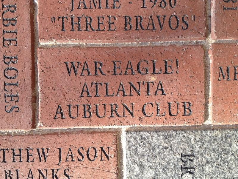 AAC brick at Alumni Walk