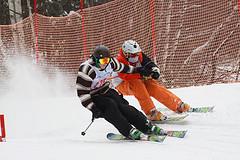 Skier Cross at Attitash