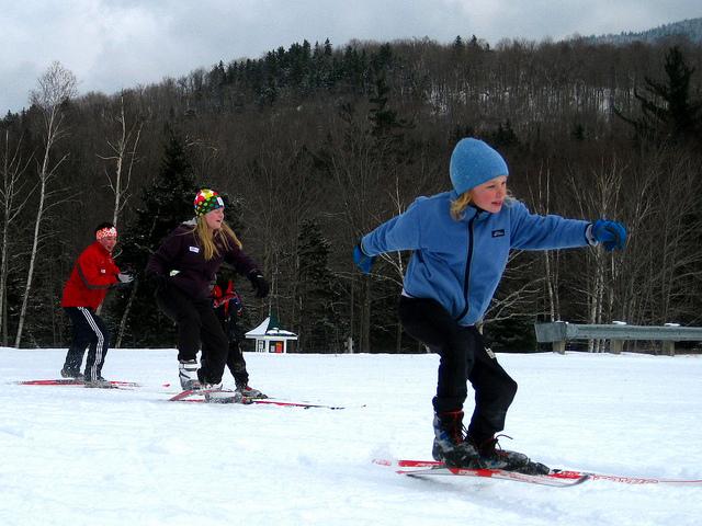 Kids at Great Glen Trails