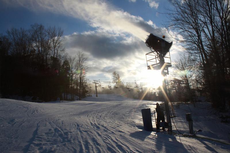 February Snowmaking at Attitash