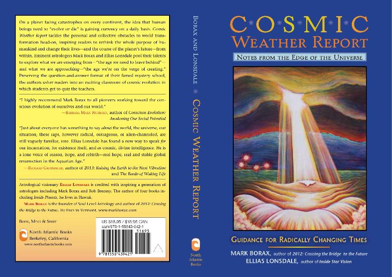 Cosmic Weather Report Book Cover