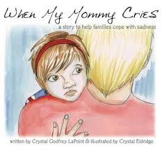 mommy cries