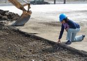 Heinlenville excavation