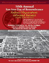 Image: Day of Remembrance flyer