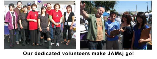 Photo: volunteers